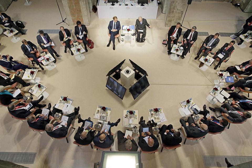Treffen der G7- Finanzminister