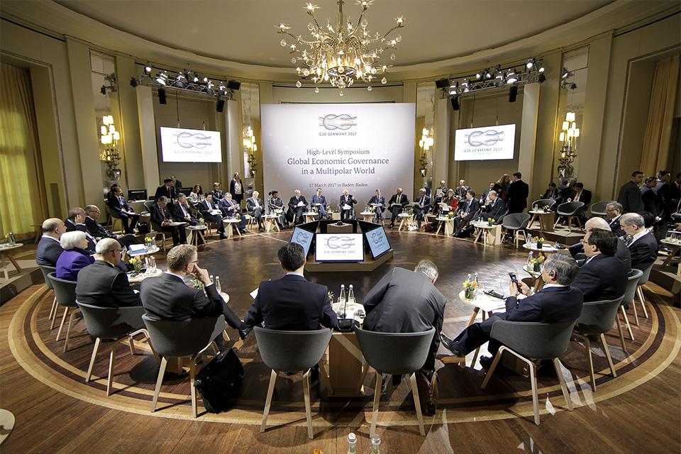 Treffen der G20- Finanzminister